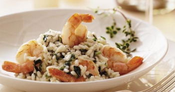 Valentine Seafood Risotto