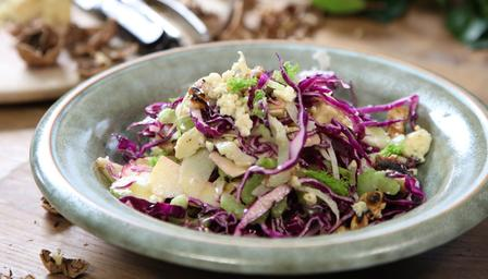 Crisp Winter Coleslaw (great with Buttermilk Chicken)