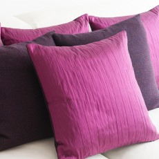 Cushion in Purple & Fuschia Pink