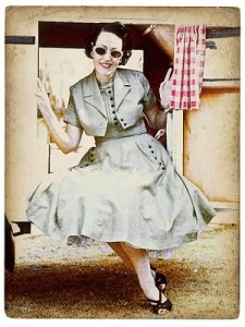 1950-fair-caravan-lady