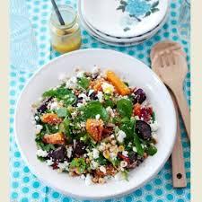 Quinoa, Beetroot, Squash & Feta Salad