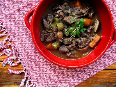 Slowly Does It Venison Stew