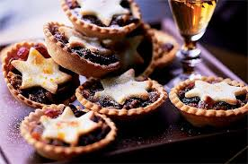 Annabel's mince pies with orange pastry