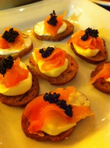 Moreish canapes