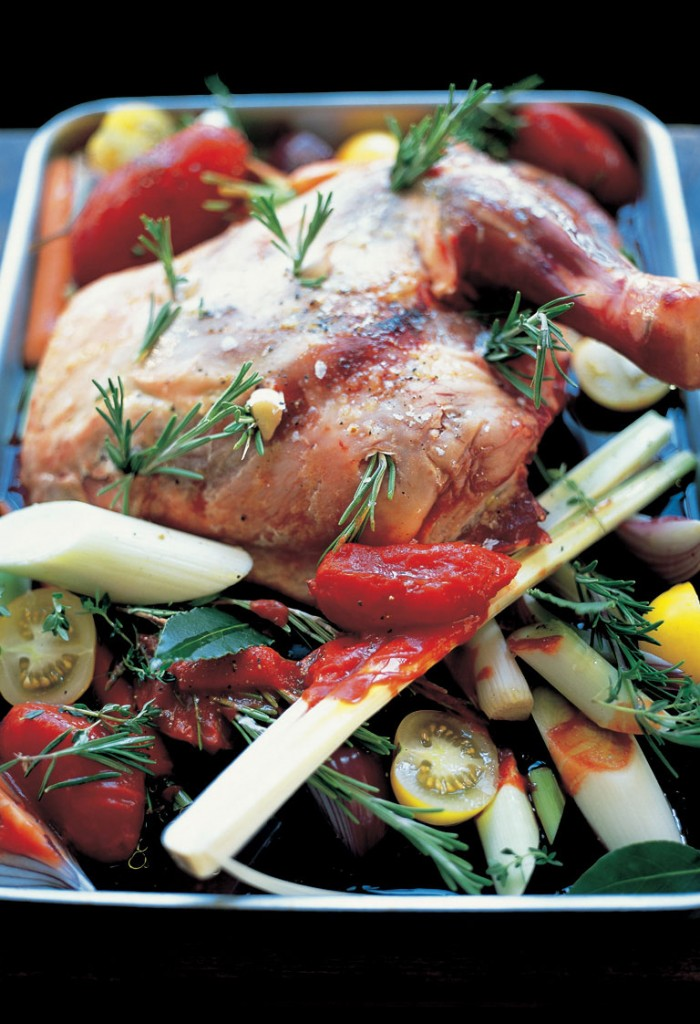 Slow cooked shoulder of lamb / CountryWives online magazine for women