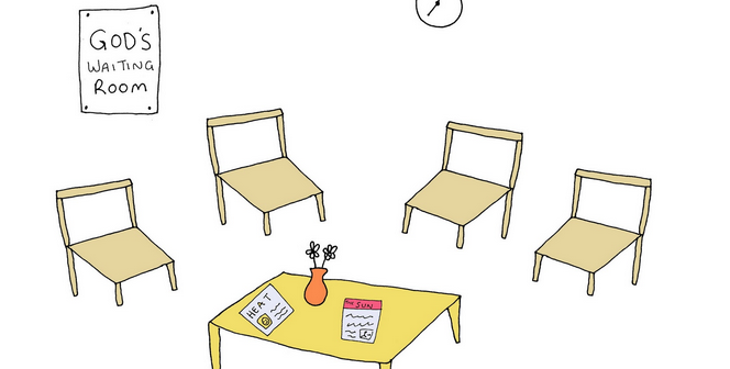 Annabel's blog ~  In God's waiting room