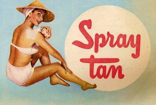 Grace's blog ~ The fake tan (things ain't wot they used to be)