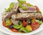 Mediterranean diet tuna