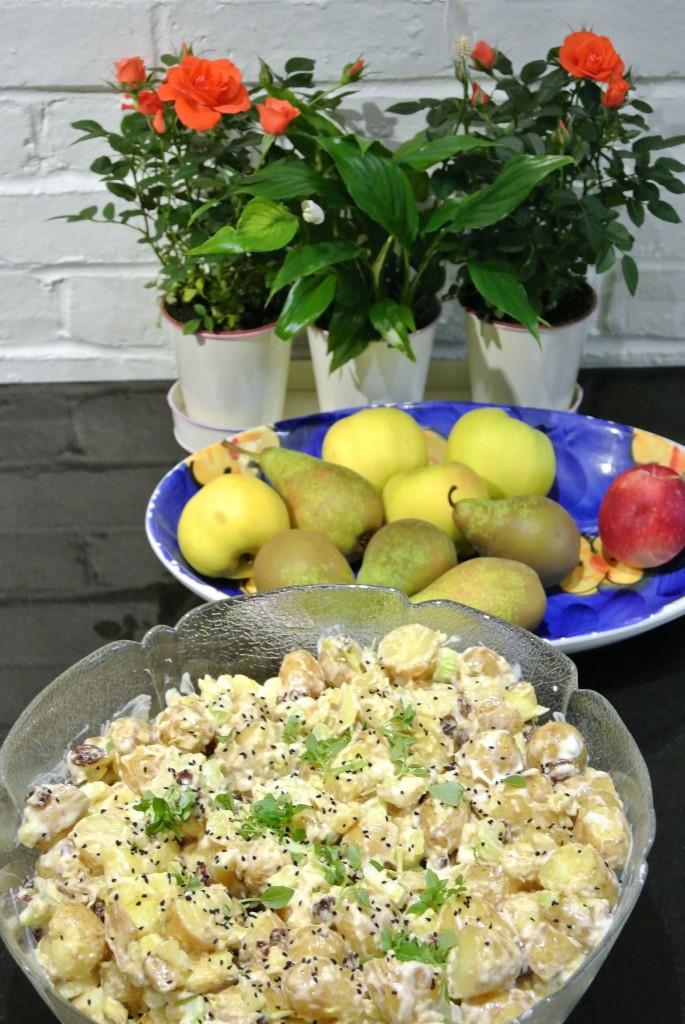 Grace's utterly delicious potato salad
