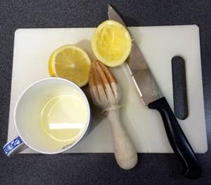 Half a lemon a day