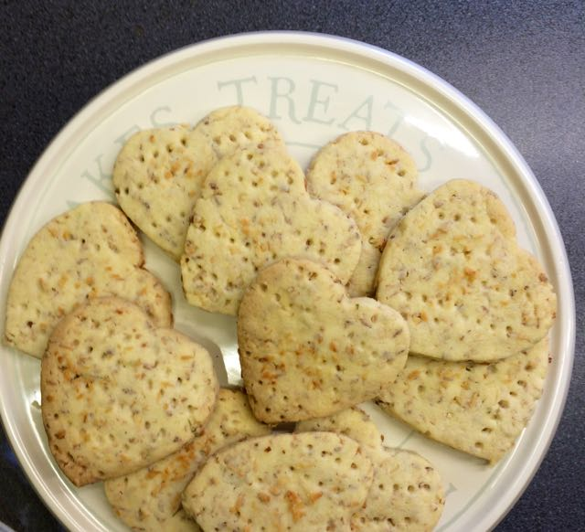 Coconut and Lime Shortbread / What's Cooking / Annabel and Grace, The CountryWives