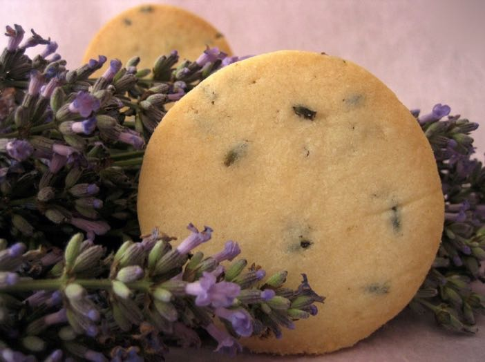 Mary Berry Lavender Shortbread Biscuits