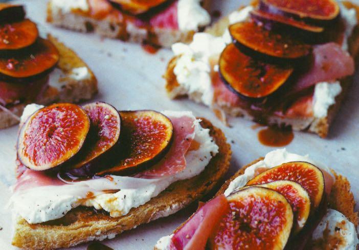 Fig & Parma Tartines