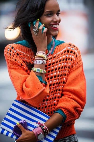 How to (successfully) wear Bright Colours and be happier