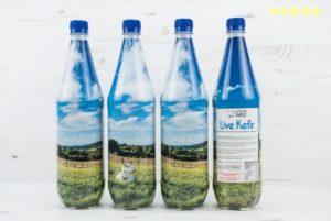 """""""4 bottles of Chuckling Goat Kefir"""""""