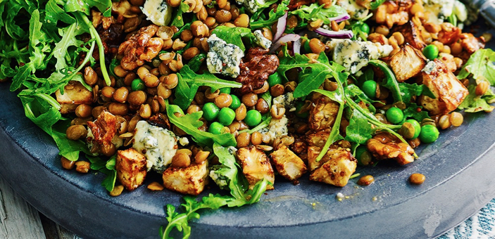CELERIAC, LENTIL AND STILTON SALAD / What's Cooking / CountryWives online magazine for women