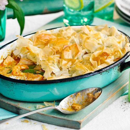 Fragrant Thai Fish Pie