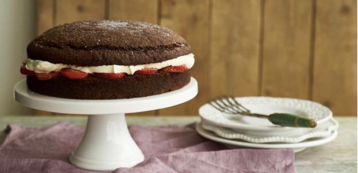 Egg-free chocolate cake