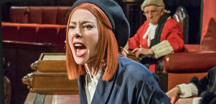 Play reviews / Witness for the prosecution / Don't Miss This / CountryWives