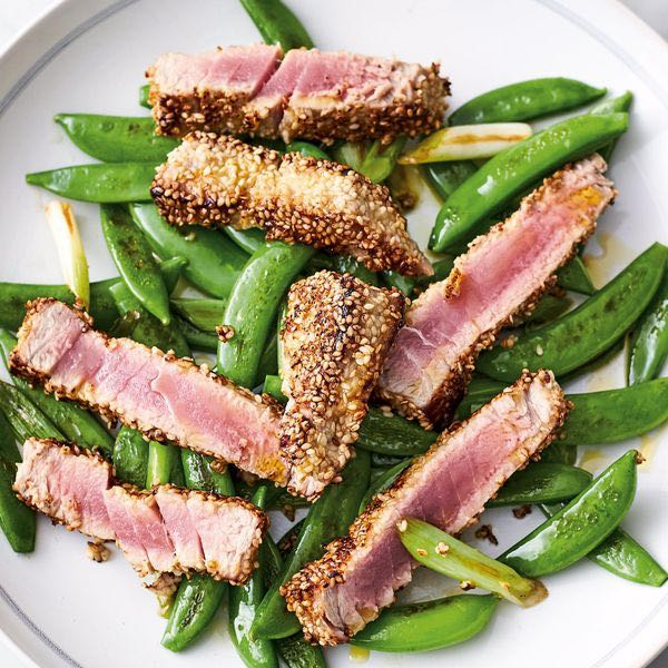 Seared Sesame Tuna / 5 Ingredients / CountryWives online magazine for women