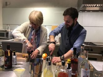Birthday Experience / Cocktail making at the Thyme Hotel / Annabel and Grace