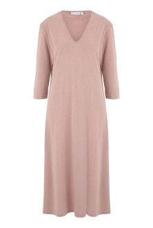 Rose V-neck nightdress - Nightwear and leisurewear that keeps you cool night and day - Cucumber Clothing