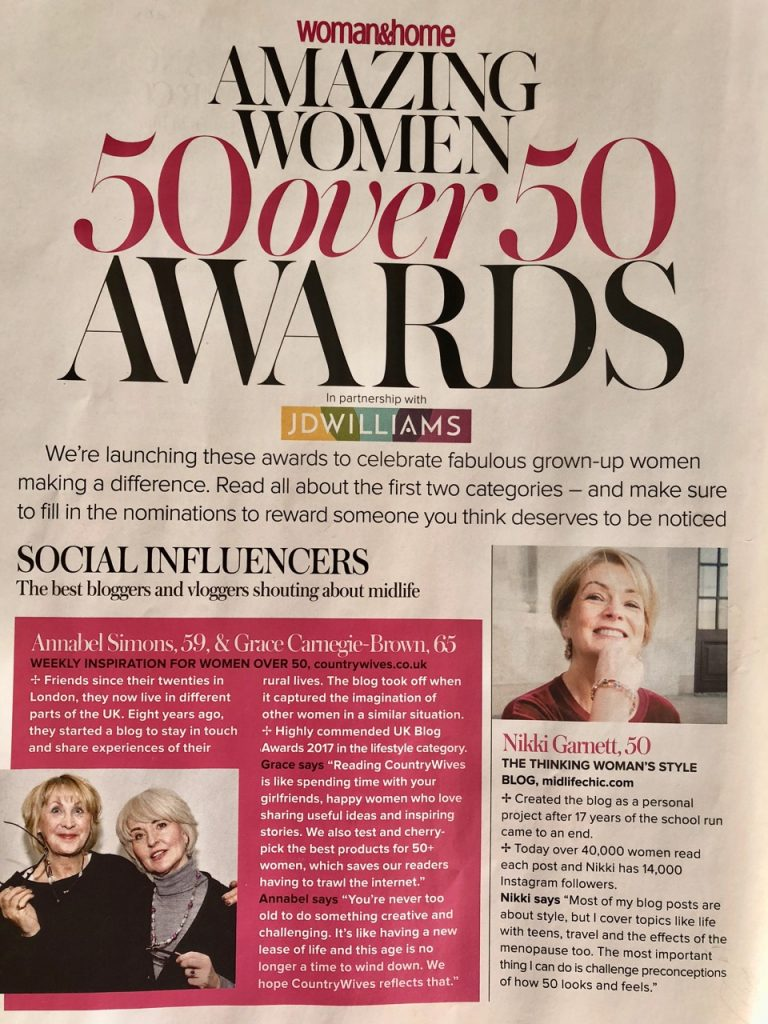 Woman & Home awards / Social Influencers / Annabel & Grace the CountryWives