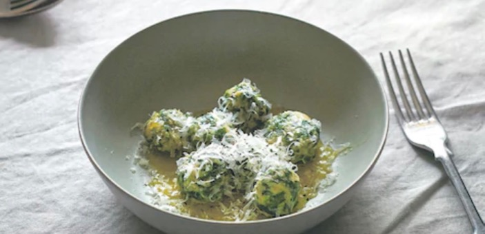 Spinach & Ricotta Gnudi / What's Cooking / Recipes / Annabel and Grace at CW