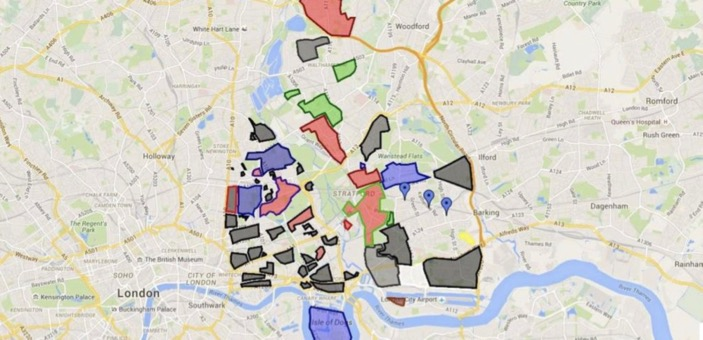 Drug Turf wars map of London / Poppy Patmore at The CountryWives / Blogs