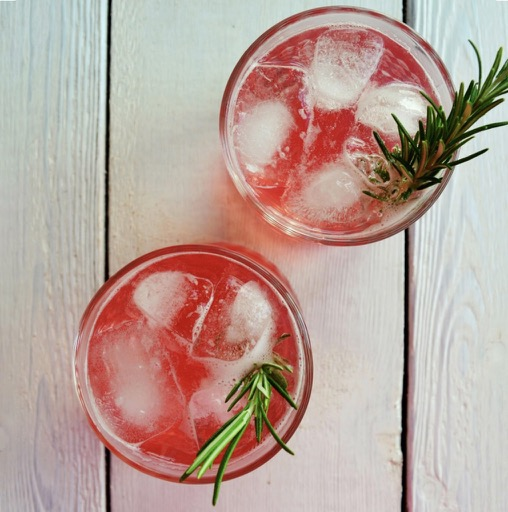 Rhubarb & Ginger Shrub / What's Cooking / Puds & treats with rhubarb / The CountryWives