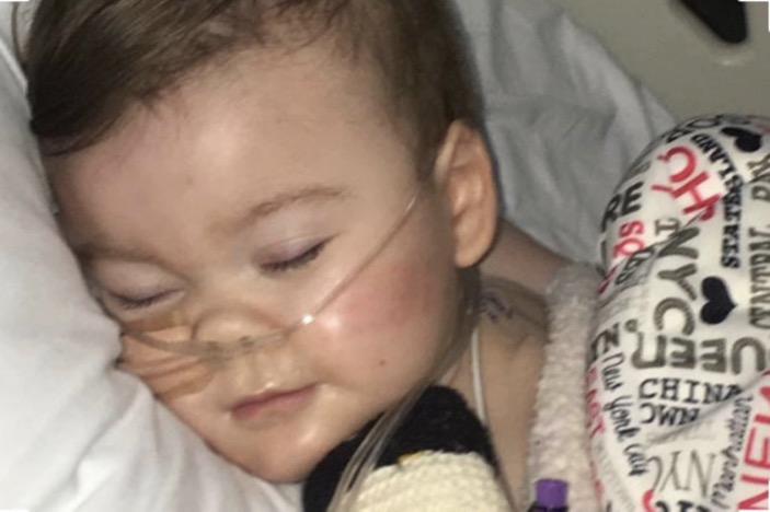 Alfie Evans asleep / Power is there to be used not abused / Blogs Poppy Patmore / The CountryWives