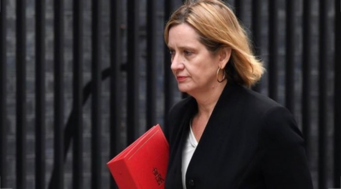 Amber Rudd carrying a red Cabinet file / Power is there to be used not abused / Blogs Poppy Patmore / The CountryWives
