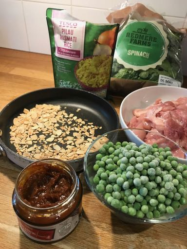 Pilaf ingredients / Chicken pilaf (easy peasy) / What's Cooking / Grace at CountryWives online magazine for women