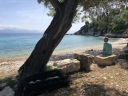A deserted beach, Paxos / Don't Miss This / Travel / The CountryWives
