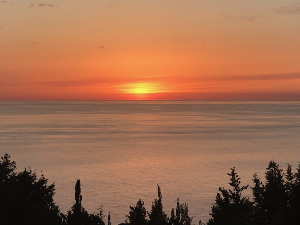 Sunset on west coast of Paxos / Don't Miss This / Travel / The CountryWives