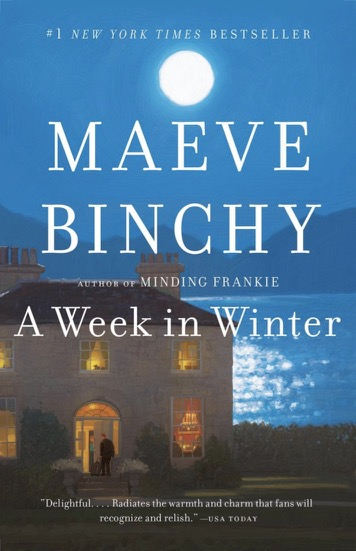 Book cover of A week in Winter - Maeve Binchy / Book Review / Don't Miss This / Entertainment / The Page Turner / The CountryWives