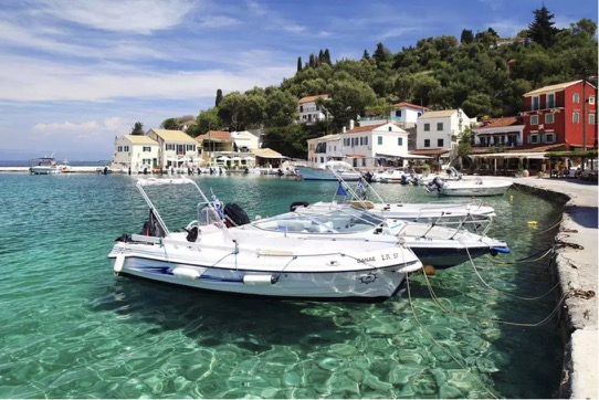 The harbour at Loggos, Paxos / Don't Miss This / Travel / The CountryWives