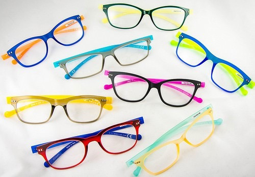 Colourful glasses to suit your face shape and skin tone / WiseSpend / CountryWives online magazine for older women