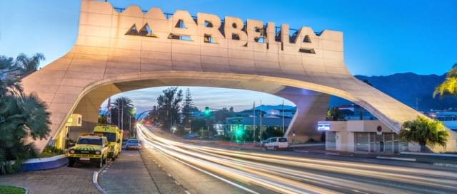 Marbella bridge / Much as I love the bling of Marbella.../ blog / BackPacking Granny at CountryWives online magazine for older women