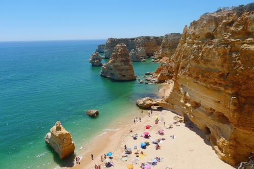 sunny holidays in Portugal