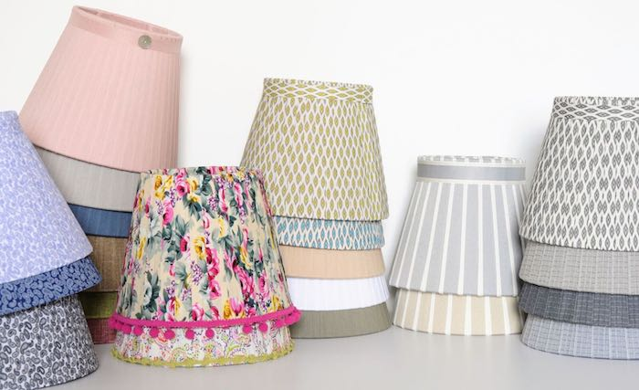 5 Desirable Items For Your House And Garden - silk ribbon lampshades