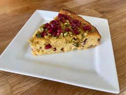 Clementine, Pistachio And Pomegranate Cake