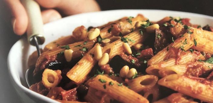 Bowl of Pasta Caponata