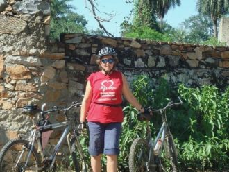Woman Of The Week: Gail Garbutt on cycle ride for charity