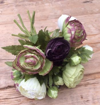 Ranunculus Bundle faux flowers - 5 Desirable Items For Your House And Garden