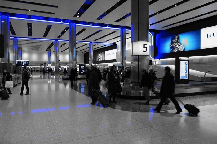 People Watching / baggage reclaim at Heathrow