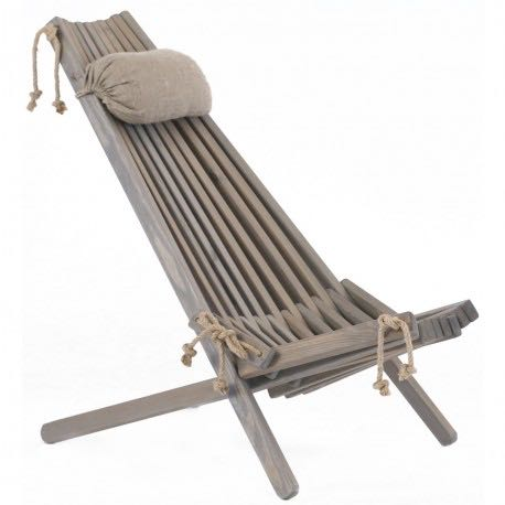 5 Desirable Items For Your House And Garden - unusual wooden deckchair