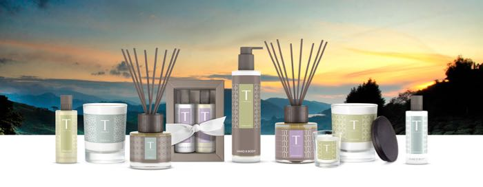 5 Desirable Items For Your House And Garden - selection of T-London fragrances