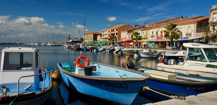Meze Harbour by Cees Wouda languedoc