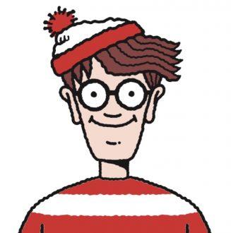 Cartoon of Where's Wally / David Cameron